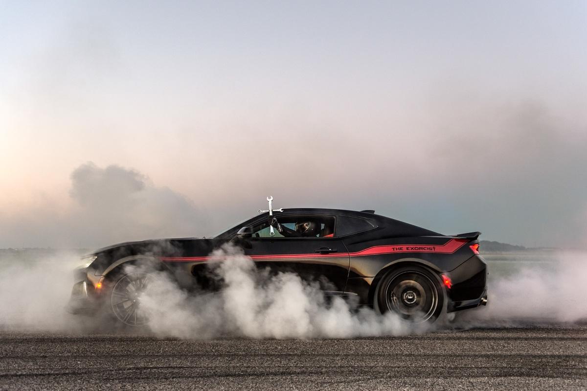 Chevrolet Camaro ZL1 par Hennessey Performance