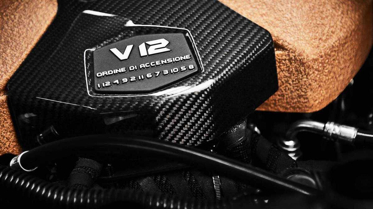 V12 Lamborghini ordre d'allumage