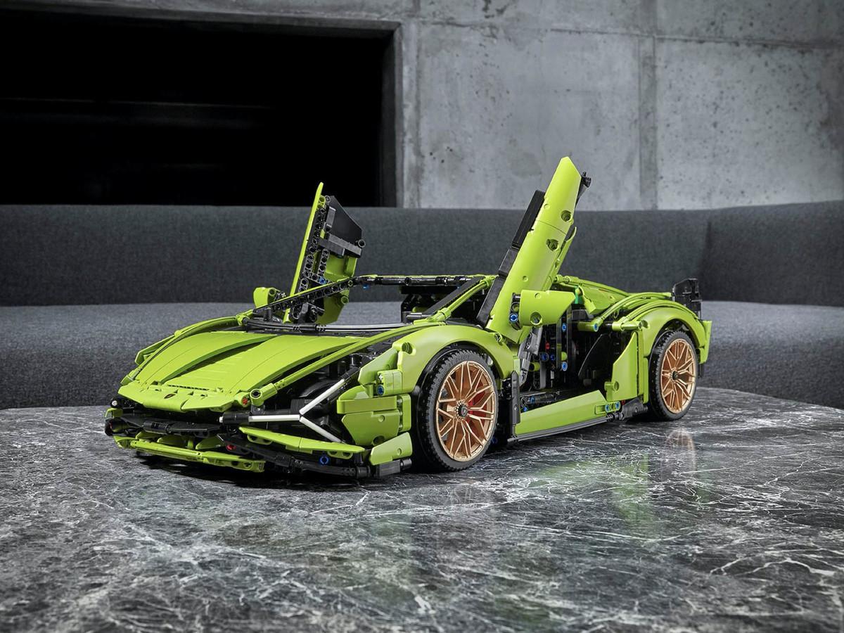 Lamborghini Sián FKP Lego Technic