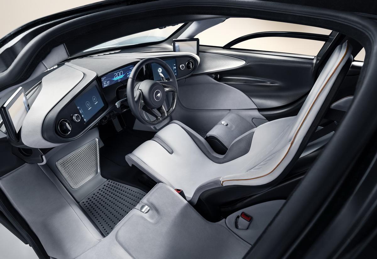 McLaren Speedtail intérieur