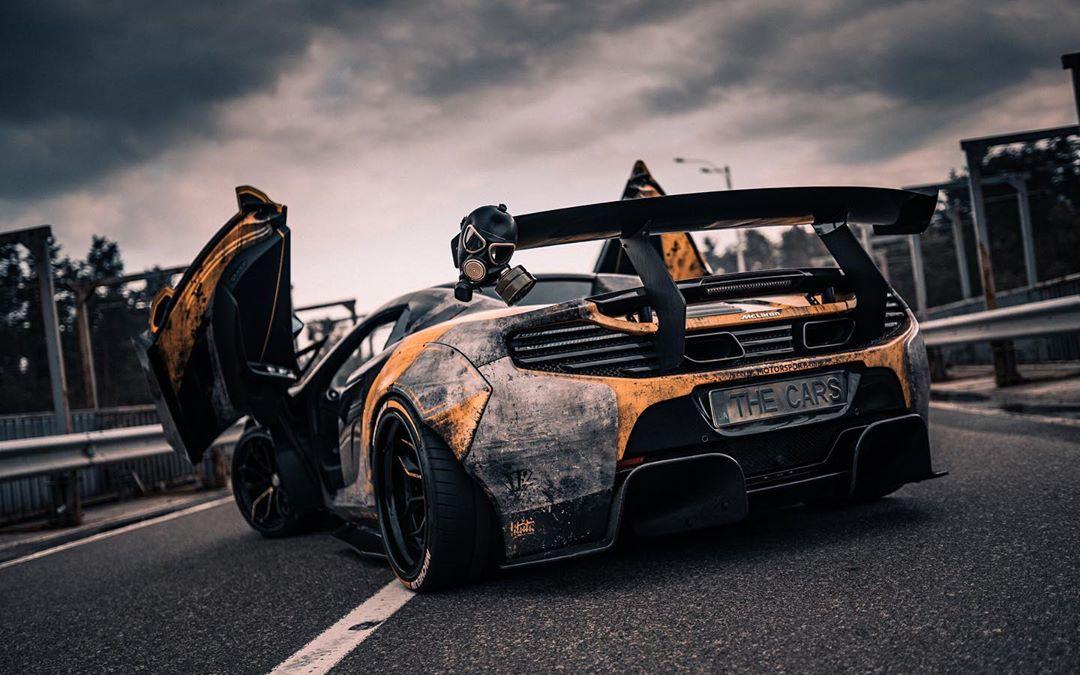 McLaren 650S Chernobyl