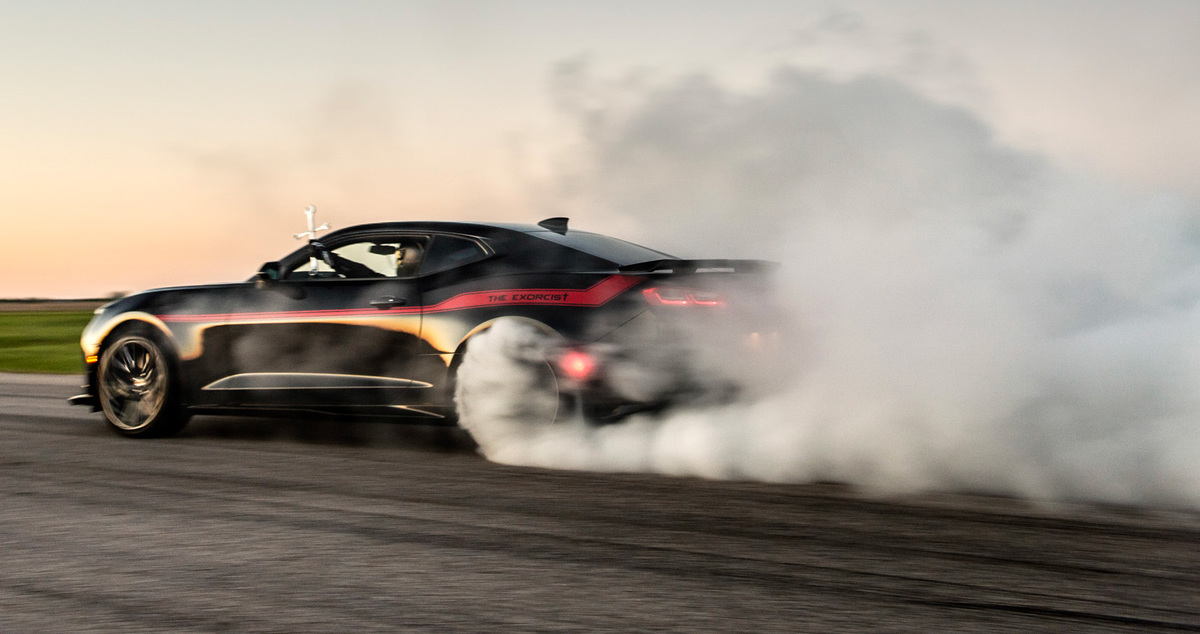 The Exorcist by Hennessey Performance : une Chevrolet Camaro ZL1 survitaminée